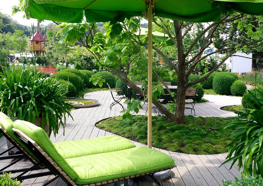 kleine gärten groß gestalten :-), Gartenschlauch