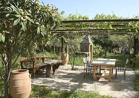 sitzplatz anlegen, Gartenarbeit ideen