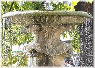 Brunnen in Lertmeritz