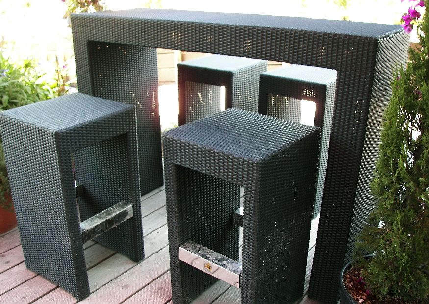 idee gartenbar bzw strandbar daheim. Black Bedroom Furniture Sets. Home Design Ideas