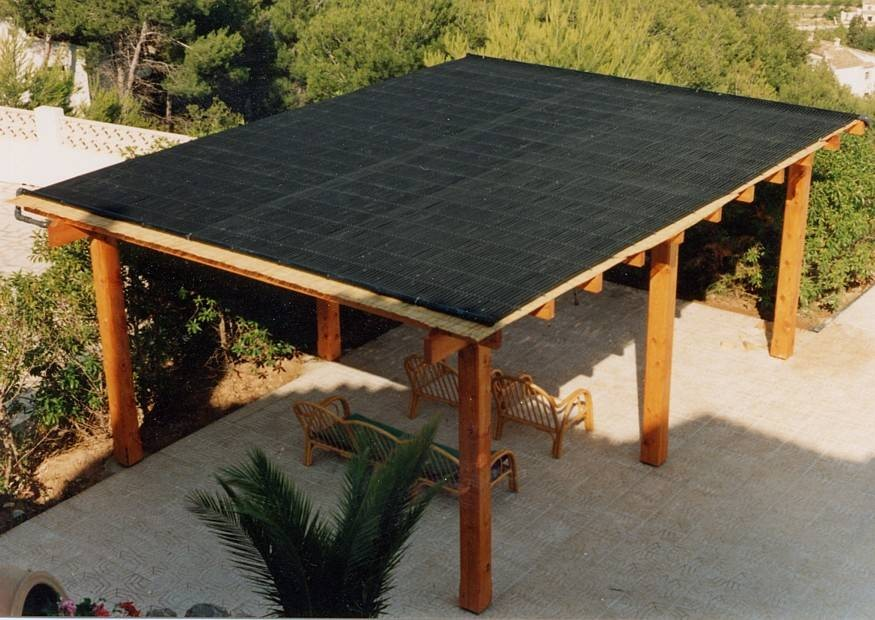 solar carport. Black Bedroom Furniture Sets. Home Design Ideas