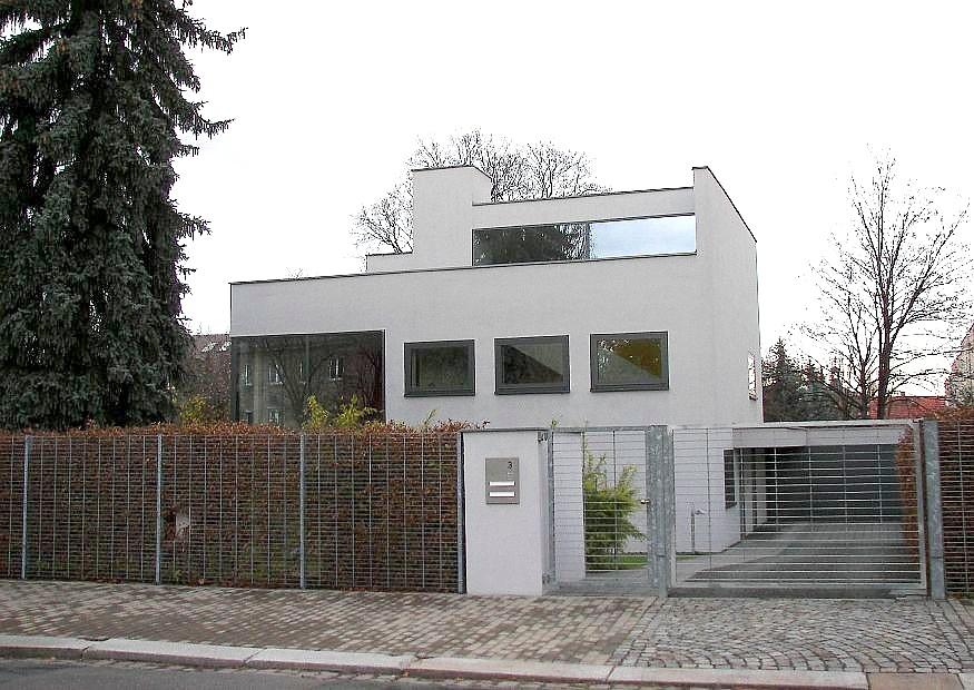 Architekten-Villa in Dresden. Wenig Aufwand - elegante Architektur ...