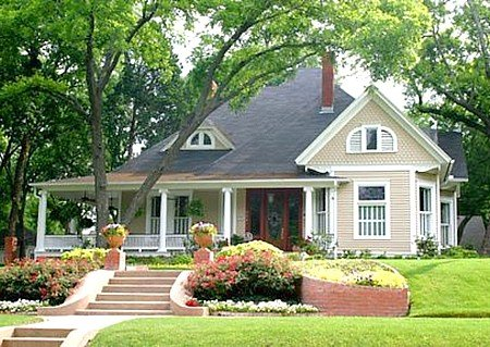 Amerikanischer Stil on front porch designs for tri level homes