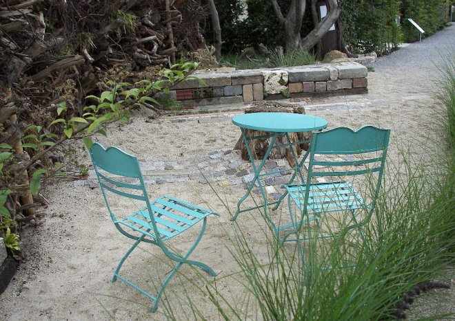 sitzplatz anlegen, Garten Ideen