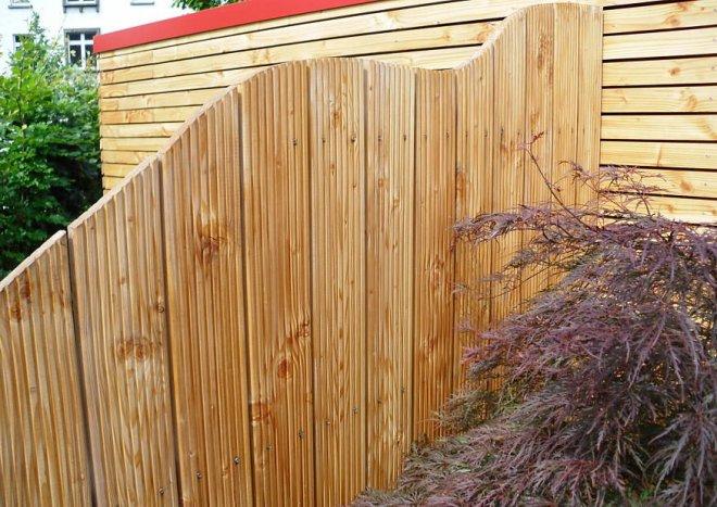 Blickschutz aus Holz selber bauen  ) Komplette Sichtschutzelemente